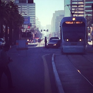 Light Rail vs. auto collision